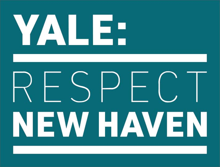 Yale Respect New Haven